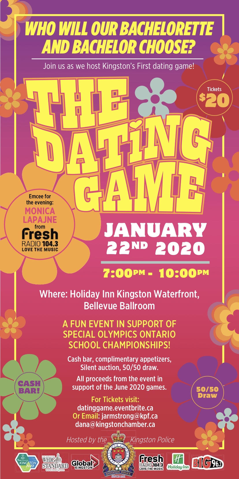 dating game poster
