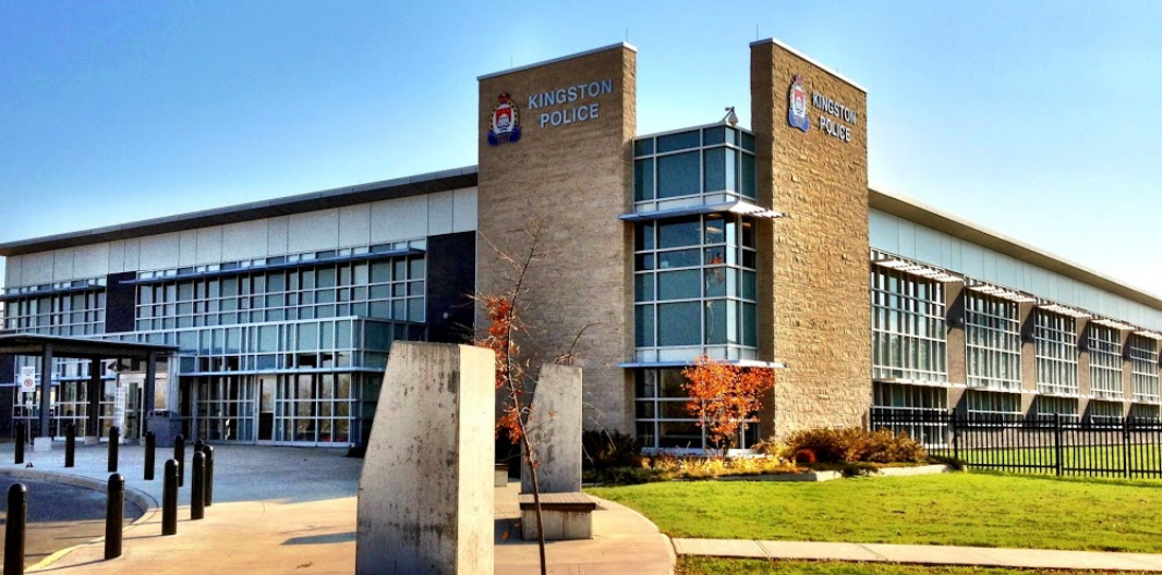front view of Kingston Police Headquarters